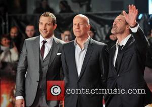 Jai Courtney, John Moore and Sebastian Koch