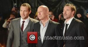 Bruce Willis, Sebastian Koch and Jai Courtney