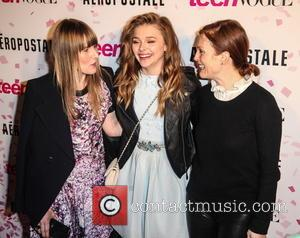 Amy Astley, Chloe Grace Moretz and Julianne Moore