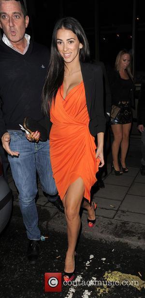 Georgia Salpa - Georgia Salpa leaving The May Fair Hotel London United Kingdom Thursday 7th February 2013