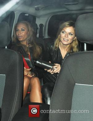 Geri Halliwell and Melanie Brown - Spice Girls At Viva Forever London United Kingdom Thursday 7th February 2013