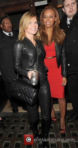 Melanie Brown and Geri Halliwell - Spice Girls At Piccadily Theatre London United Kingdom Thursday 7th February 2013