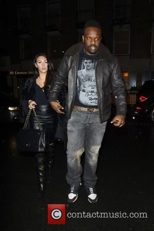 Dereck Chisora - Tyler Shields private view of his most recent collection London United Kingdom Thursday 7th February 2013