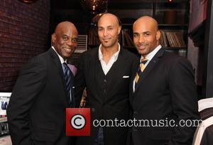 James Brown, Patrick Kodjoe and Boris Kodjoe - Boris Kodjoe ALFA clothing event Miami Florida United States Thursday 7th February...