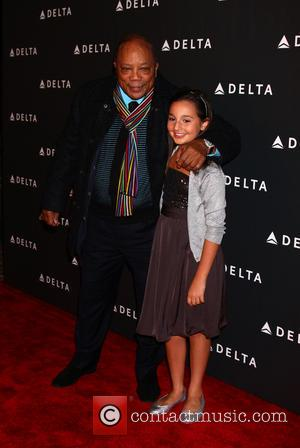 Quincy Jones and Emily Bear