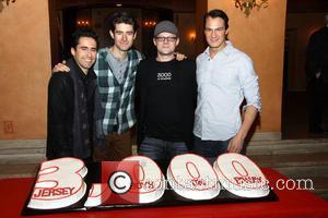 John Lloyd Young, Drew Gehling, Jeremy Kushnier and Matt Bogart