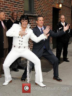 Elvis, John Barbaugh, The Late Show and David Letterman