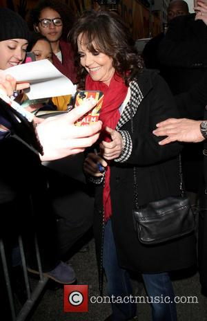 Sally Field - 'The Late Show With David Letterman' celebrities New York United States Thursday 7th February 2013