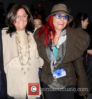 Fern Mallis and Patricia Field