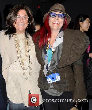 Fern Mallis and Patricia Field