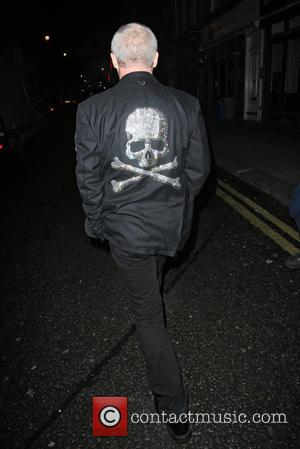 Damien Hirst - Damien Hirst Leaving The Groucho London United Kingdom Friday 8th February 2013