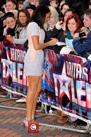 Alesha Dixon - Britain's Got Talent Auditions Birmingham England United Kingdom Friday 8th February 2013