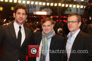 John Krasinski, Matt Damon and Gus Van Sant