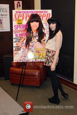 Carly Rae Jepsen - Carly Rae Jepsen signs copies of her...