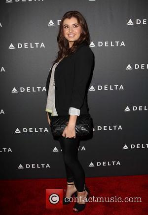 Rebecca Black - Delta Air Lines celebrate LA's Music Industry Los Angeles California United States Friday 8th February 2013