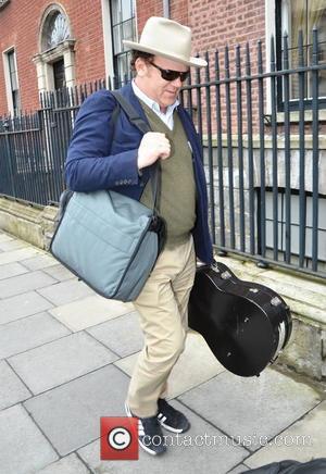 John C. Reilly - John C. Reilly seen arriving at his Dublin hotel Dublin Ireland Friday 8th February 2013
