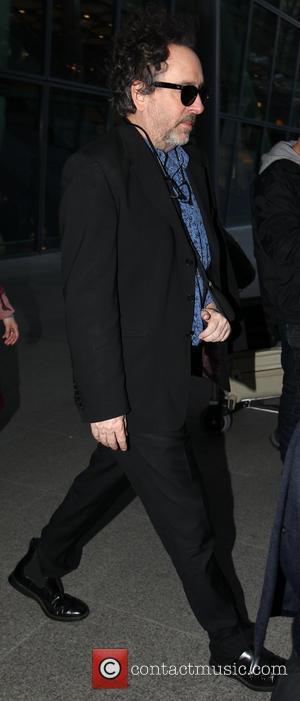 Tim Burton seen arriving at Heathrow Airport London United Kingdom Friday 8th February 2013