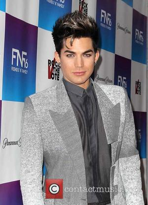 Adam Lambert - Friends N Family 2013 Pre Grammy party Los Angeles California United States Friday 8th February 2013