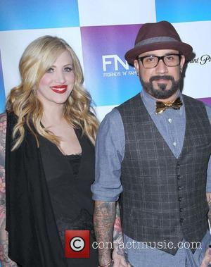 AJ McLean and Rochelle Deanna Karidis - Friends N Family 2013 Pre Grammy party Los Angeles California United States Friday...