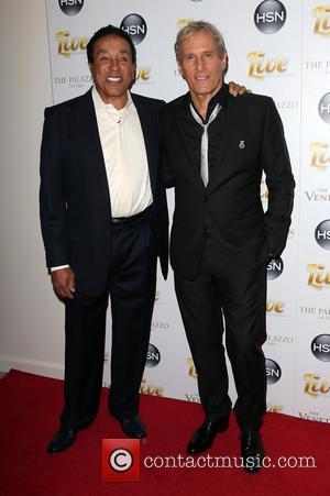 Smokey Robinson and Michael Bolton
