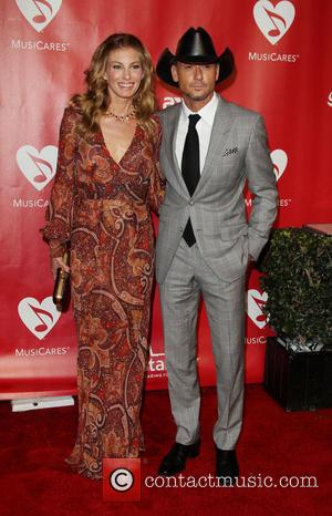 Faith Hill and Tim McGraw - The 55th Annual GRAMMY Awards - MusiCares Person of the Year honoring Bruce Springsteen...