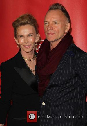 Trudie Styler and Sting - The 55th Annual GRAMMY Awards - MusiCares Person of the Year honoring Bruce Springsteen Los...