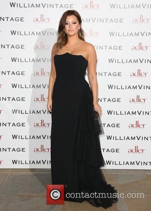 Holly Valance - BAFTAs: WilliamVintage dinner London United Kingdom Friday 8th February 2013