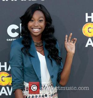 Coco Jones - Cartoon Network Hall of Game Awards Los Angeles California United States Friday 8th February 2013