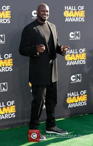 Shaquille O'Neal - Cartoon Network Hall of Game Awards Los Angeles California United States Friday 8th February 2013