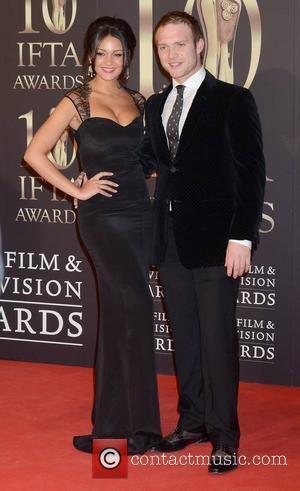 Michelle Keegan and Chris Fountain