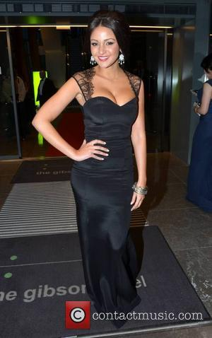 Michelle Keegan - Guests leave the Gibson Hotel Dublin Ireland Saturday 9th February 2013