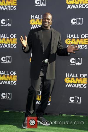 Shaquille O'Neal - Cartoon Network Hall of Game Awards Santa Monica California United States Saturday 9th February 2013