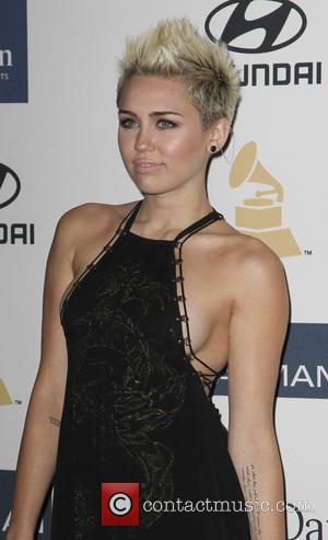 Miley Cyrus - Clive Davis 2013 Pre-Grammy Gala Los Angeles California USA Saturday 9th February 2013