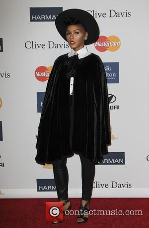Janelle Monae - Clive Davis 2013 Pre-Grammy Gala