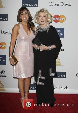 Melissa Rivers and Joan Rivers - Clive Davis 2013 Pre-Grammy Gala Los Angeles California USA Saturday 9th February 2013