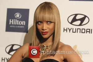 Tyra Banks - Clive Davis & The Recording Academy's 2013 Pre-Grammy Gala Los Angeles California United States Saturday 9th February...