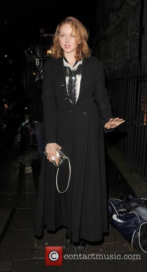 Lily Cole - Pre-BAFTA Dinner At Annabels London United Kingdom Saturday 9th February 2013