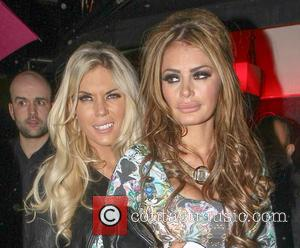 Chloe Simms and Frankie Essex - Celebs out at Mayfair night club London United Kingdom Saturday 9th February 2013
