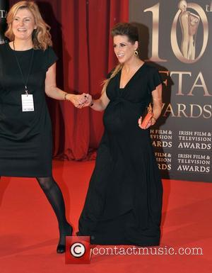Amy Huberman - The IFTA Awards 2013 Dublin Ireland Saturday 9th February 2013