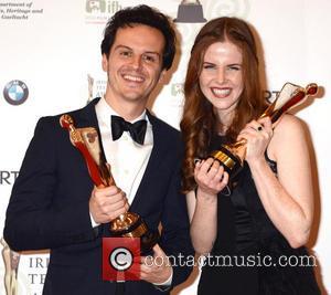Andrew Scott and Susan Loughnane - Irish Film and Television Awards 2013 Dublin Ireland Saturday 9th February 2013