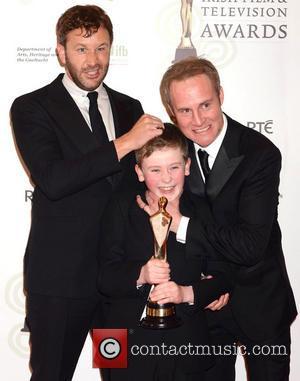 Chris O'Dowd, Peter McDonald and David Rawle - Irish Film and Television Awards 2013 Dublin Ireland Saturday 9th February 2013