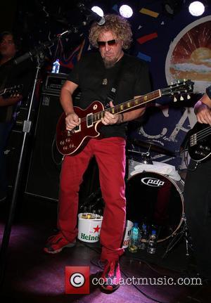 Sammy Hagar - Sammy Hagar performing on the final night of Cabo Wabo Cantina Las Vegas NV United States Saturday...