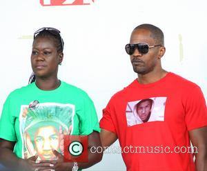 Jamie Foxx Joins Trayvon Martin Peace Walk