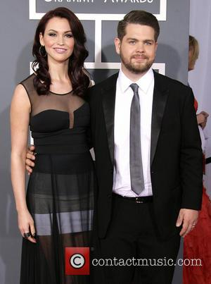 Jack Osbourne and Lisa Stelly - 55th Annual GRAMMY Awards held at Staples Center - Arrivals - Los Angeles, California,...