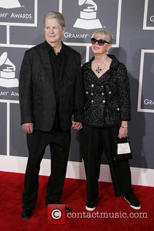Brian Wilson and Melinda Wilson - 55th Annual GRAMMY Awards - Arrivals held at Staples Center Los Angeles California United...