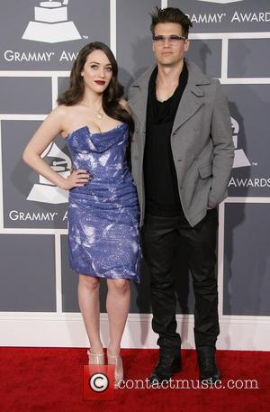 Kat Dennings and Nick Zano - 55th Annual GRAMMY Awards held at Staples Center Los Angeles California United States Sunday...