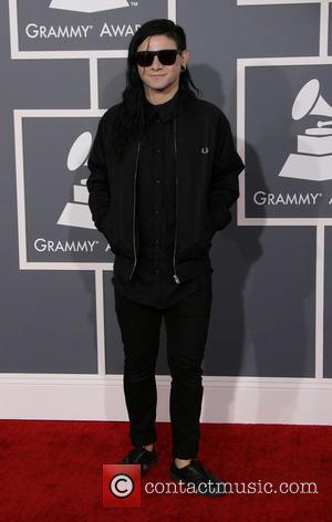 Skrillex - 55th Annual GRAMMY Awards Los Angeles California United States Sunday 10th February 2013