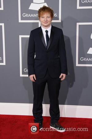 Ed Sheeran - 55th Annual GRAMMY Awards Los Angeles California United States Sunday 10th February 2013