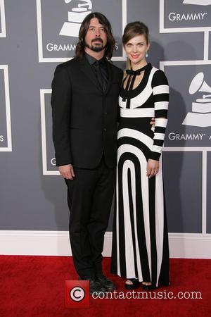 Dave Grohl and Jordyn - 55th Annual GRAMMY Awards Los Angeles California United States Sunday 10th February 2013
