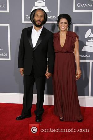 Ziggy Marley and Orly Marley - 55th Annual GRAMMY Awards Los Angeles California United States Sunday 10th February 2013